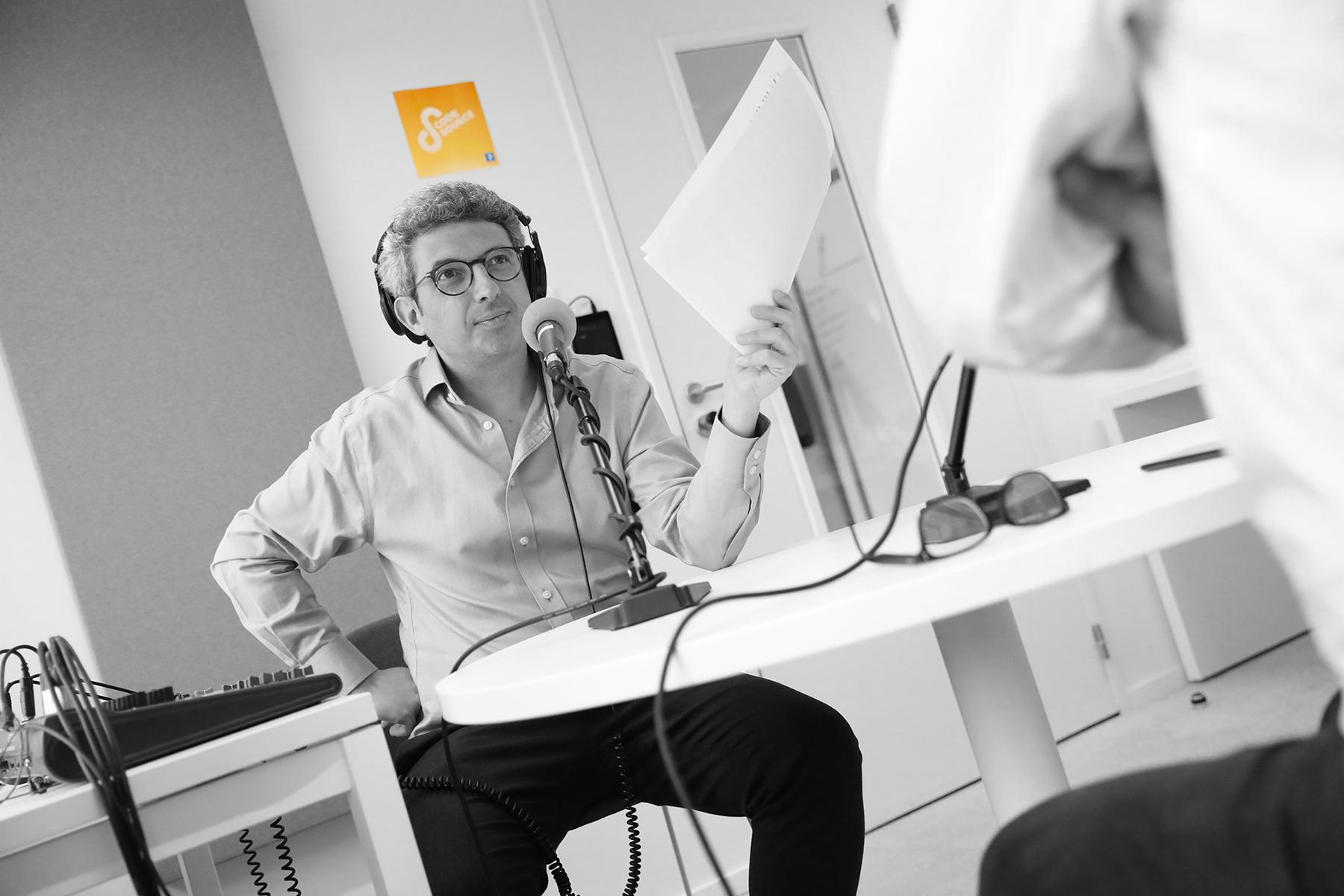 Jules Lavie : « En faisant Code source, j'ai appris à raconter des histoires » ⋆ Podmust